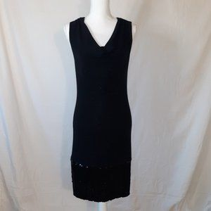 NWT T Tahari Sleeveless Little Black Dress Small